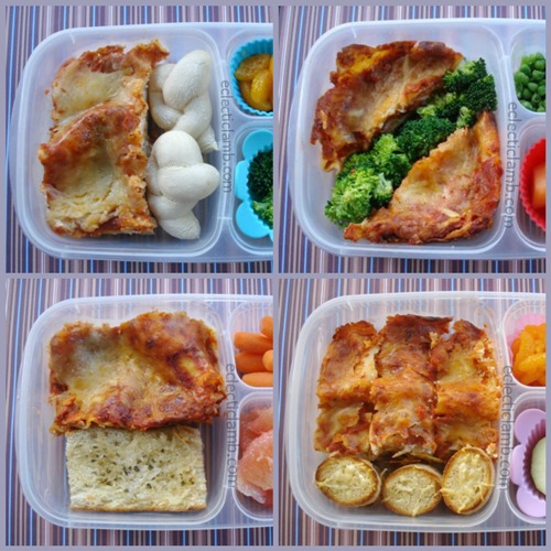Lasagna 4 Ways