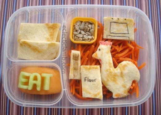 Little Red Hen Bento Lunch