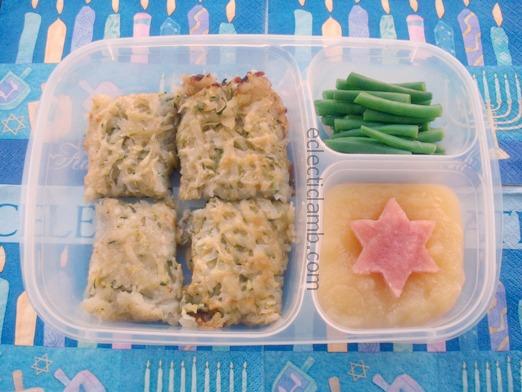 Potato Zucchini Pancakes Lunch