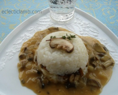 Mushrooms and Rice