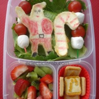 Santa is Coming for a Bento Lunch Hop