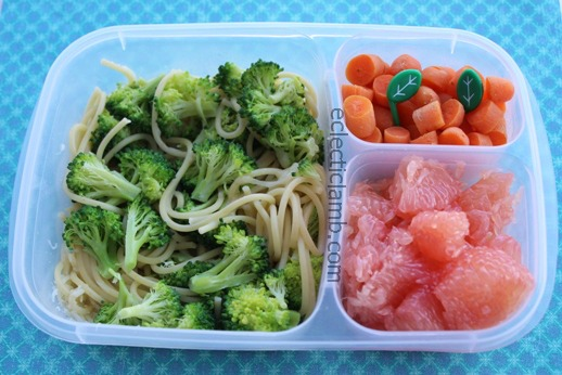 Spaghetti with Broccoli and Cheese