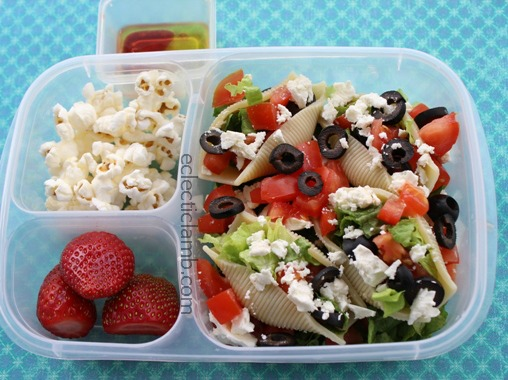 Vegetarian Salad Shells