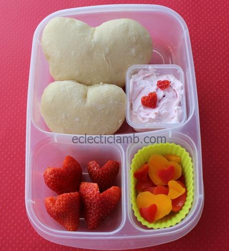 Bread Heart Lunch