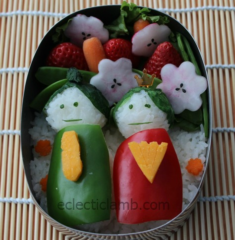 Girls Day Bento