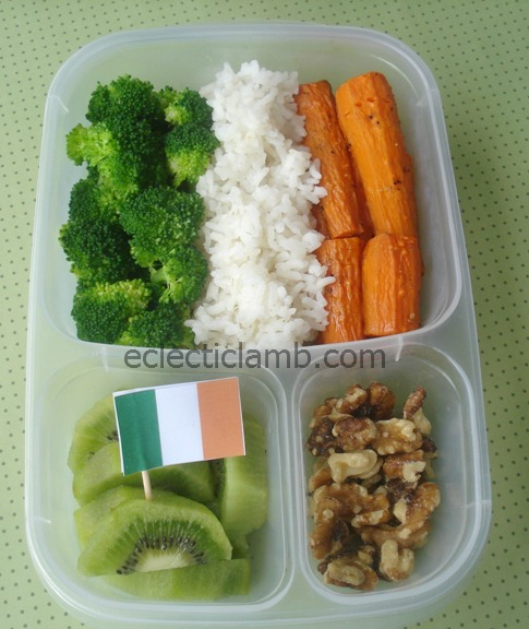 Irish Flag Bento