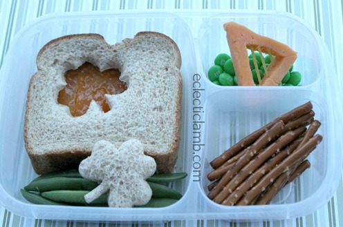 Shamrock Sandwich with Cheese Harp