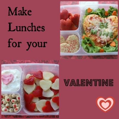 Valentine Bento Collage
