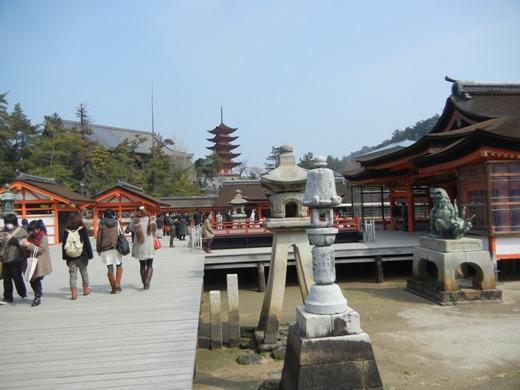 Scene in Miyajima