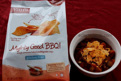 Vans BBQ Chips with Chili