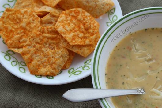 Vans Nacho Nacho Man Chips with Soup