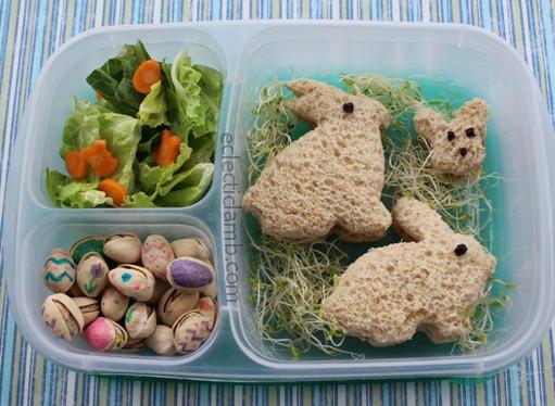 Bunny Sandwiches Bento