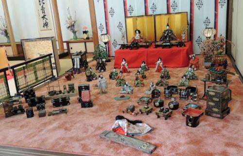 Display at Ichihime Shrine