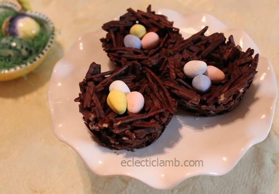 Egg Nest Dessert