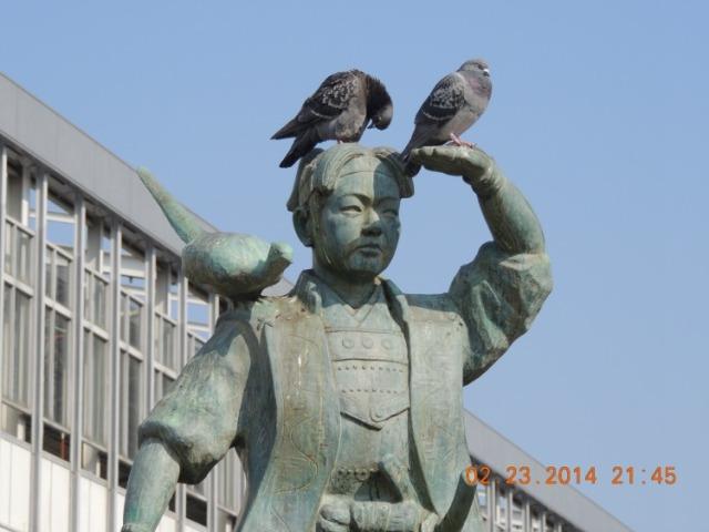 Momotaro Statue