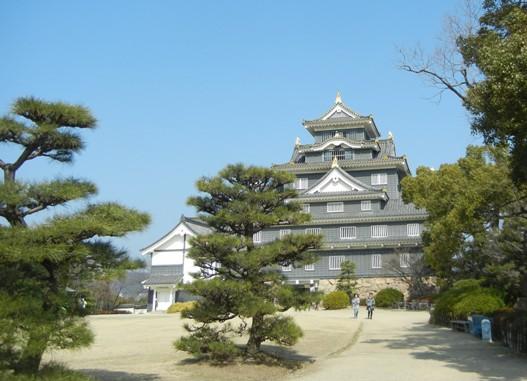 Okayama Castle Back