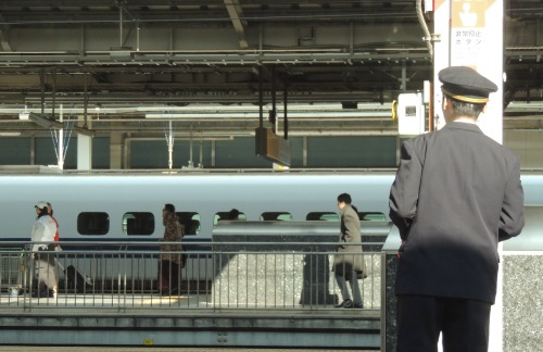 Shinkansen Worker