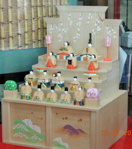 Wooden Hina Display