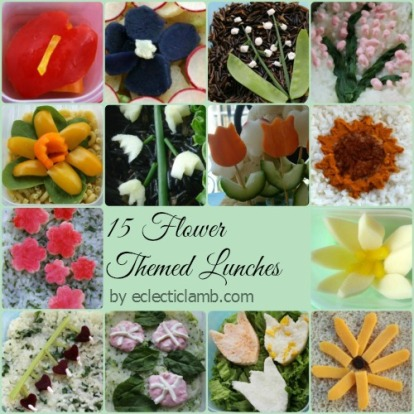 Flower Lunches Collage