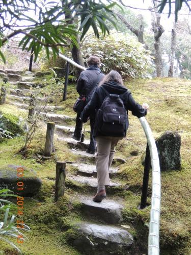 Isuien Garden Walking Steps
