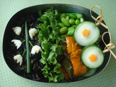 Lily of the Valley Bento