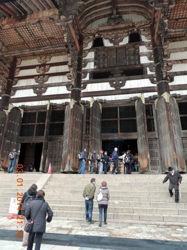 Nara Steps Buddha Hall