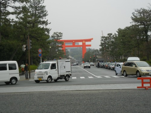 Near Heian Shrine