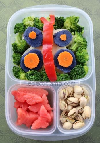 Potato Butterfly Lunch