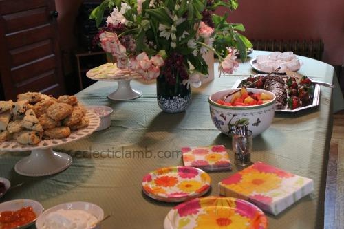Pretty Table Tea Food