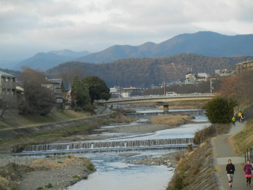 River in Kyoto