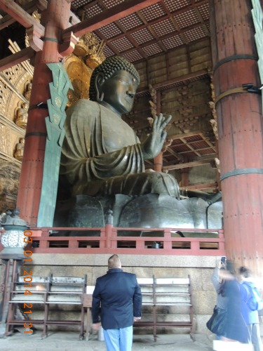 Side of Big Buddha