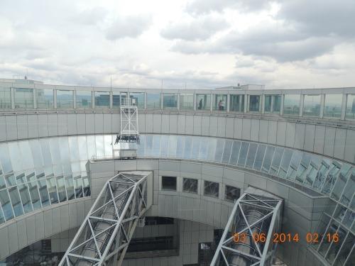 Umeda Sky Building Clouds