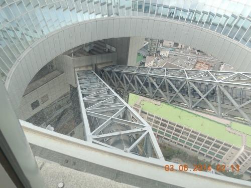View of Esclators Sky Building