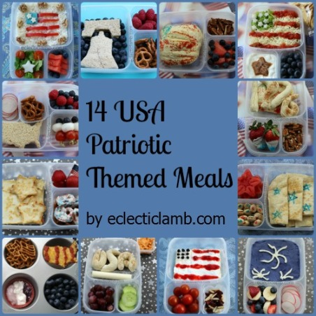 14 Patriotic Meals Collage