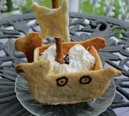 Viking Ship Sundae