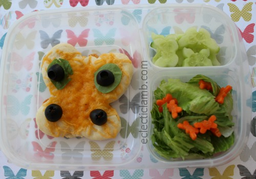 Butterfly Pizza Lunch
