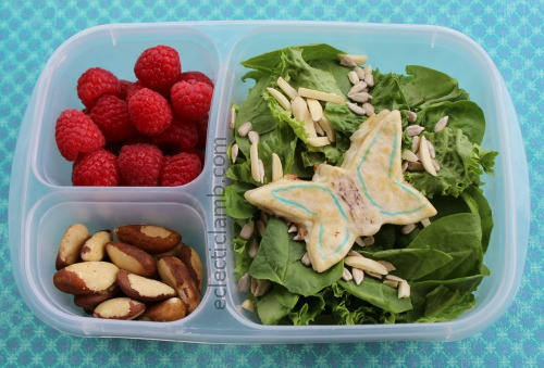Butterfly Quesadilla Salad Lunch