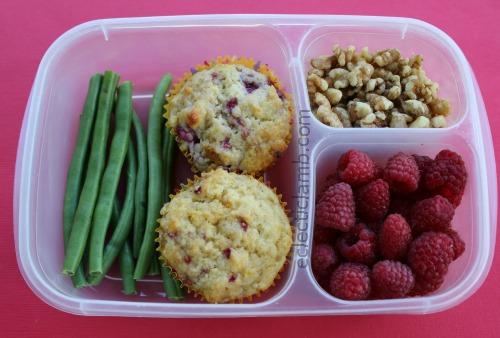 Raspberry Muffin Lunch