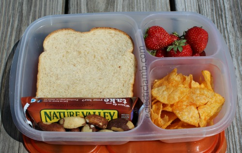 Sandwich Chips Lunch