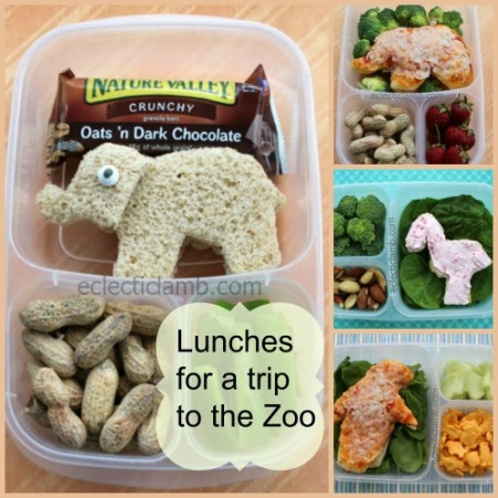 Zoo Lunches Collage
