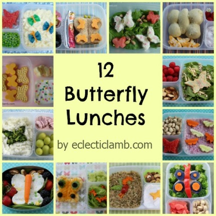 12 Butterfly Lunches Collage
