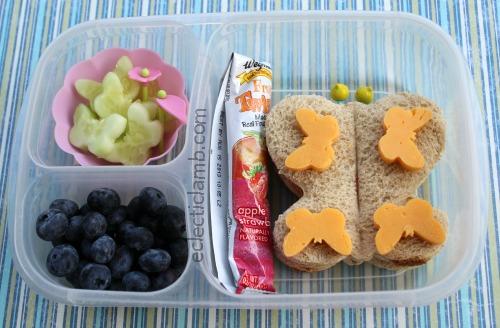 Butterfly Sandwich Lunch