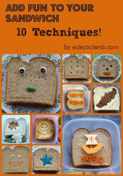 10 Ways Fun to Sandwich Collage