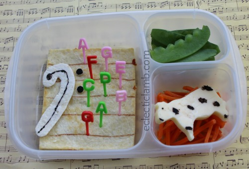 Bass Clef Bento Lunch