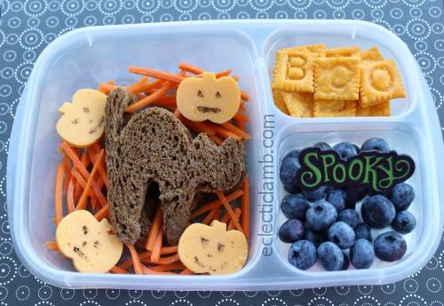 Black Cat Halloween Lunch