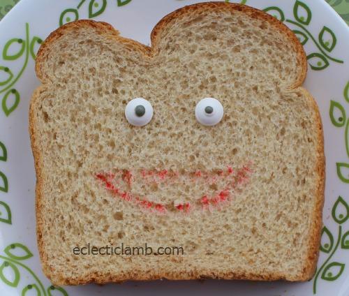 Candy Eye Food Marker Sandwich