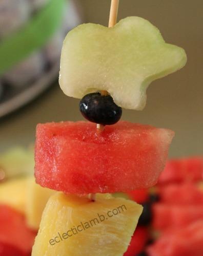Elephant Fruit Kabob