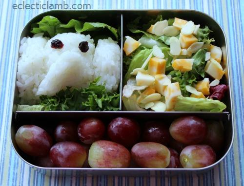 Elephant Onigiri Lunch