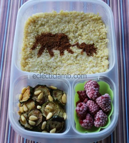 Elephant Stencil Lunch
