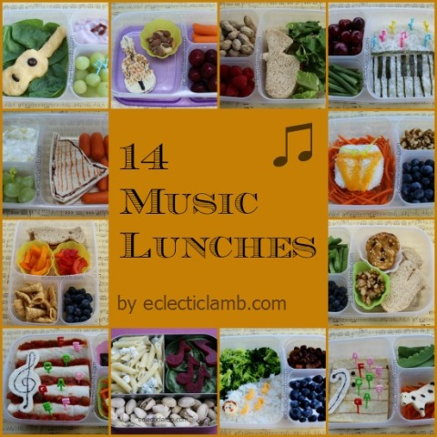 Music Lunches Collage